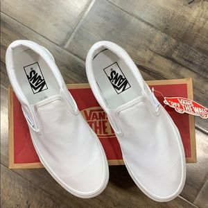 VANS CLASSIC SLIP ON TRUE WHITE